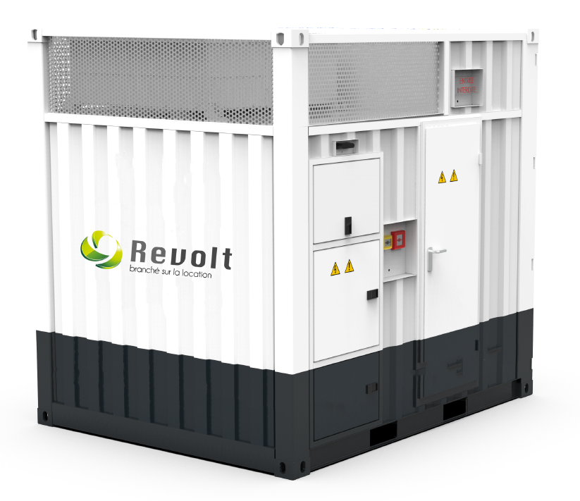 Pack Batterie 200 kVA - Revolt Location