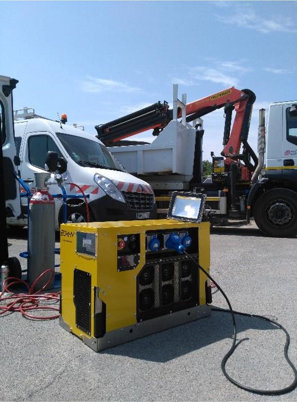 L'hydrogène, une énergie verte à louer